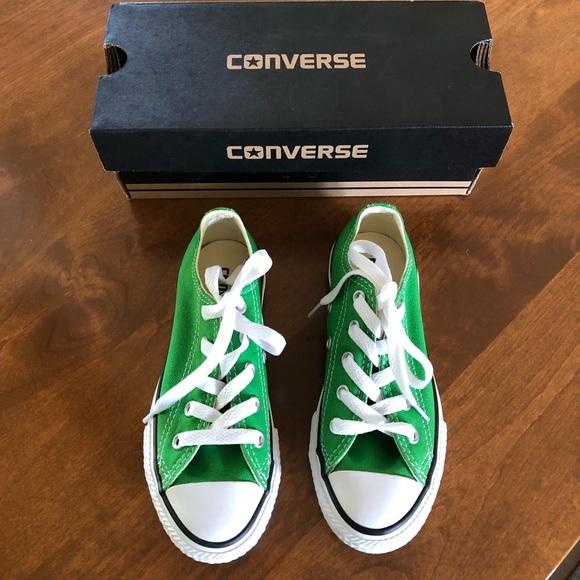 Converse Shoes   Boys Green Size 12